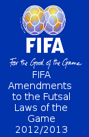 Fifa Futsal Amendments 2012