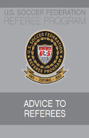 Soccer Advice to Referees
