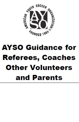 AYSO Guide for Referees