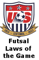 US Soccer Futsal Laws of the Game 2011